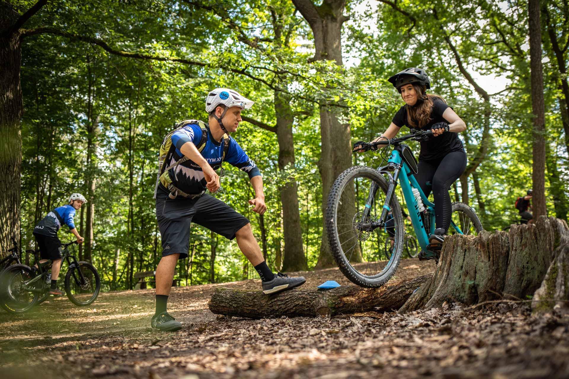 MTB Fahrtechnik Kurs für Einsteiger in Bad Orb   Spessart - Mountainbike Basic - Rock my Trail Bikeschule - 1