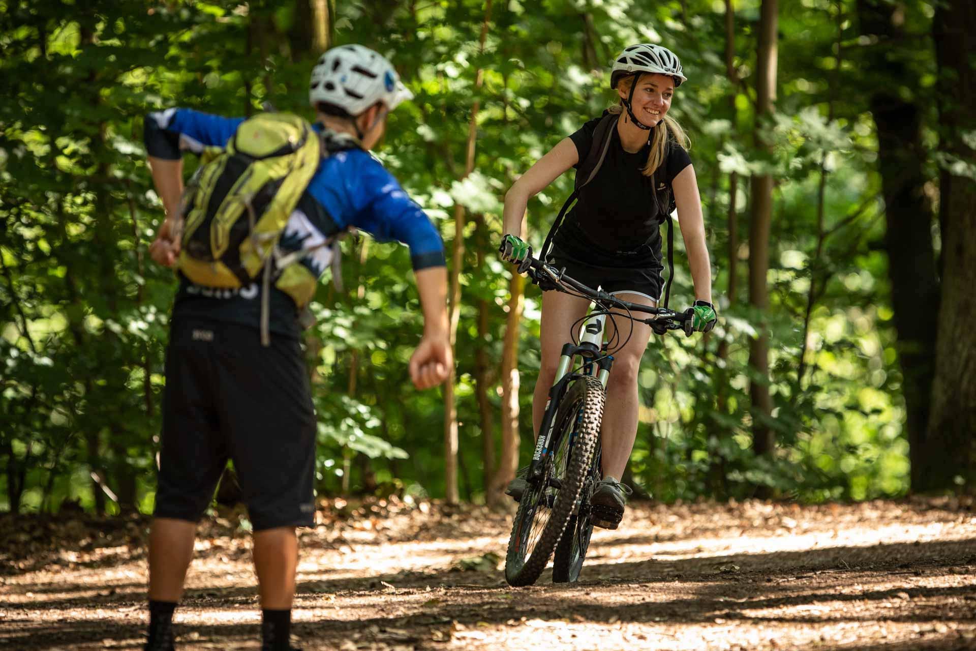MTB Fahrtechnik Kurs für Einsteiger in Bad Orb   Spessart - Mountainbike Basic - Rock my Trail Bikeschule - 15