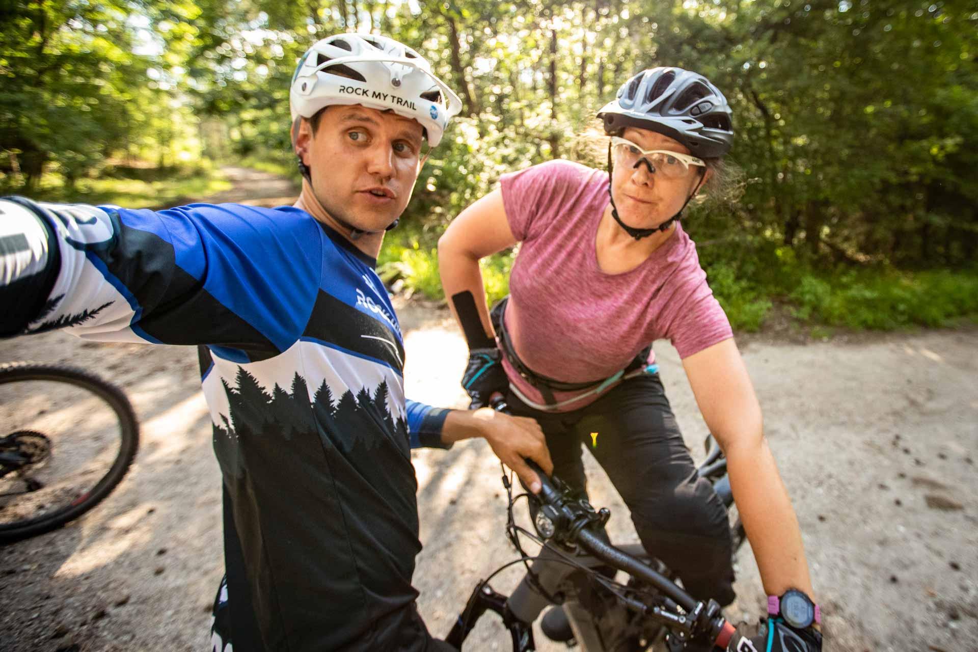 MTB Fahrtechnik Kurs für Einsteiger in Bad Orb   Spessart - Mountainbike Basic - Rock my Trail Bikeschule - 30