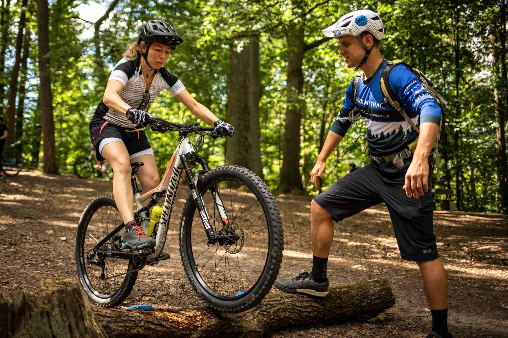 MTB Fahrtechnik Kurs für Einsteiger in Bad Orb | Spessart - Mountainbike Basic - Rock my Trail Bikeschule - 36