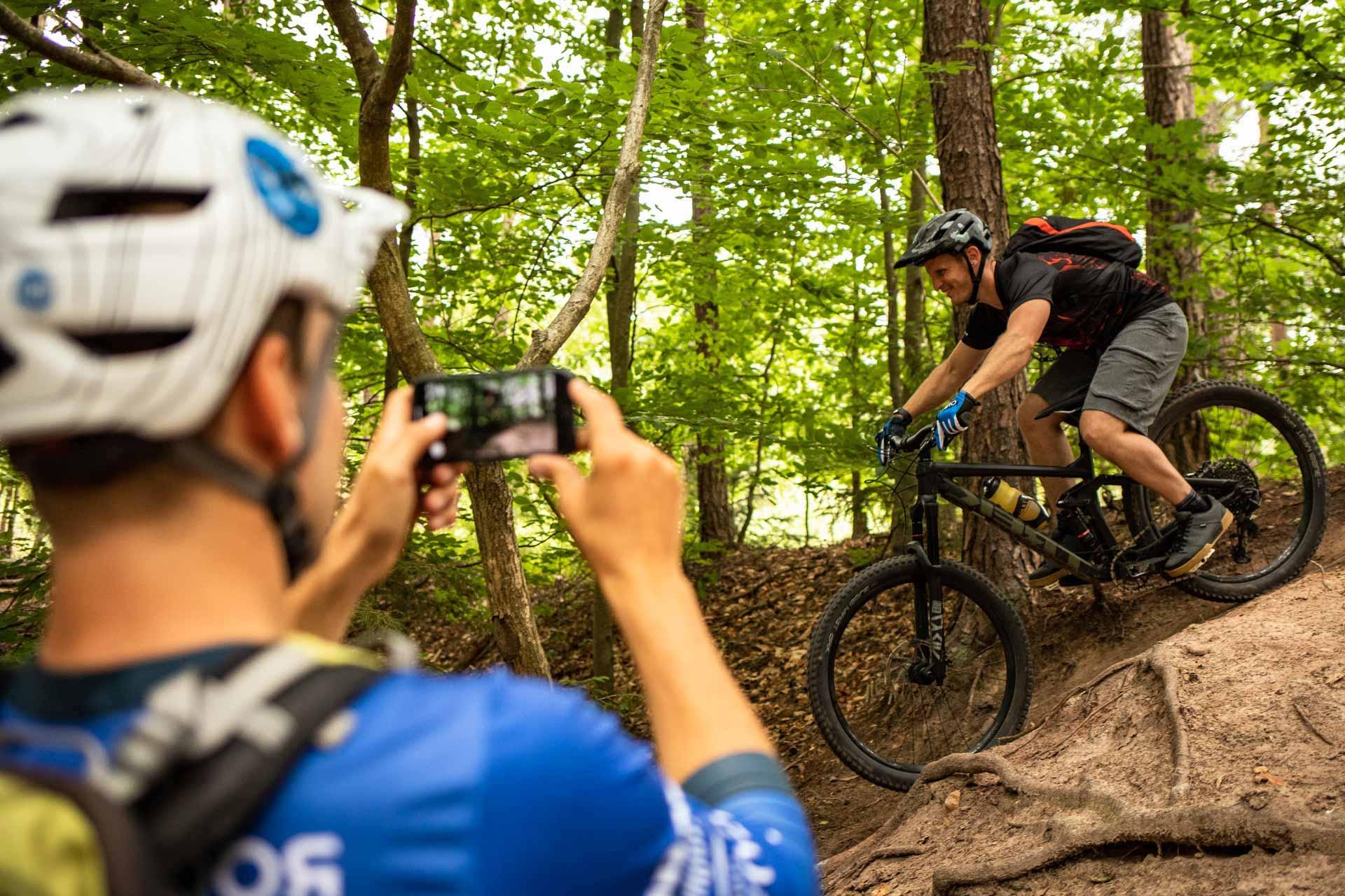 MTB Fahrtechnik Kurs für Einsteiger in Bad Orb   Spessart - Mountainbike Basic - Rock my Trail Bikeschule - 8