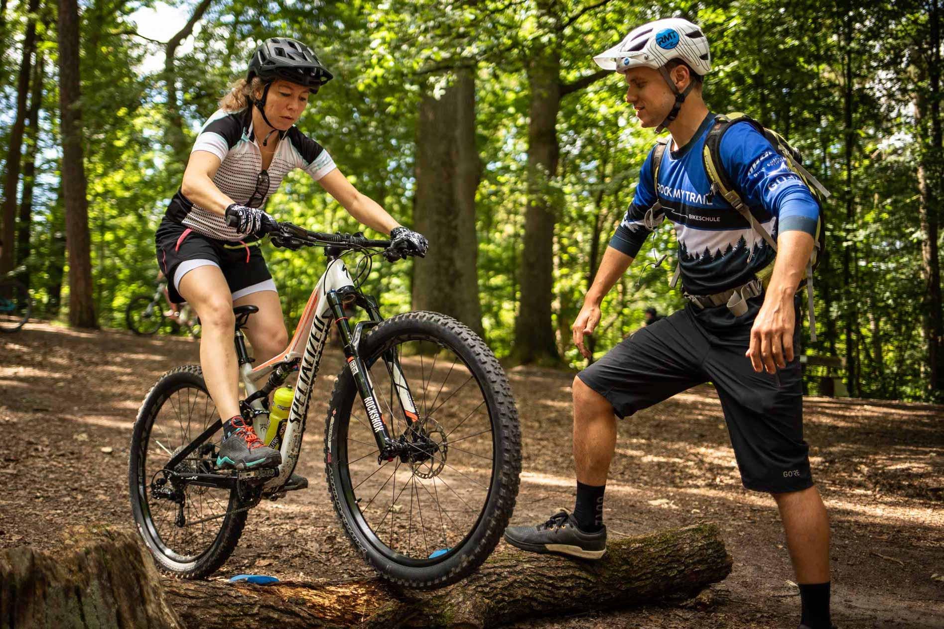 MTB Fahrtechnik Kurs für Einsteiger in Saarbrücken - Mountainbike Basic - Rock my Trail Bikeschule - 28