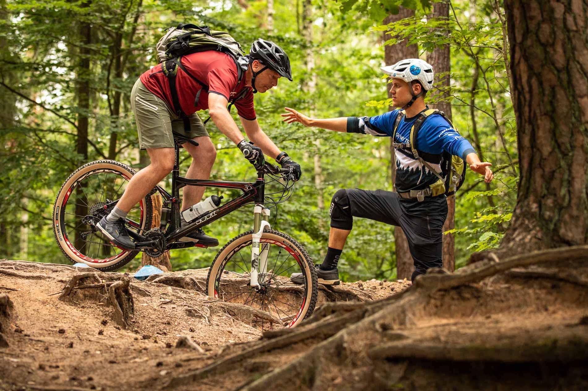 MTB Fahrtechnik Kurs für Einsteiger in Saarbrücken - Mountainbike Basic - Rock my Trail Bikeschule - 32