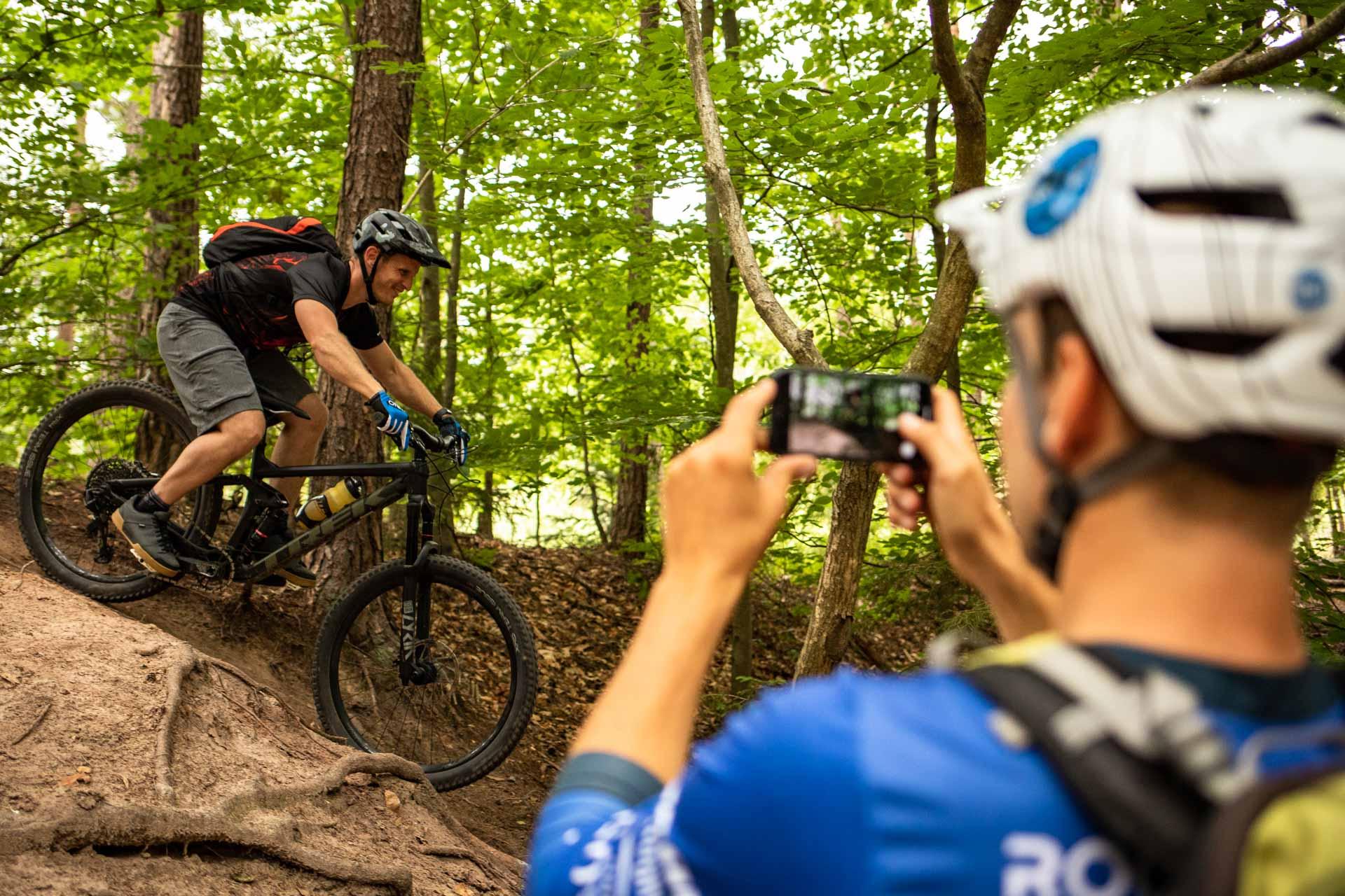 MTB Fahrtechnik Kurs für Einsteiger in Saarbrücken - Mountainbike Basic - Rock my Trail Bikeschule - 8