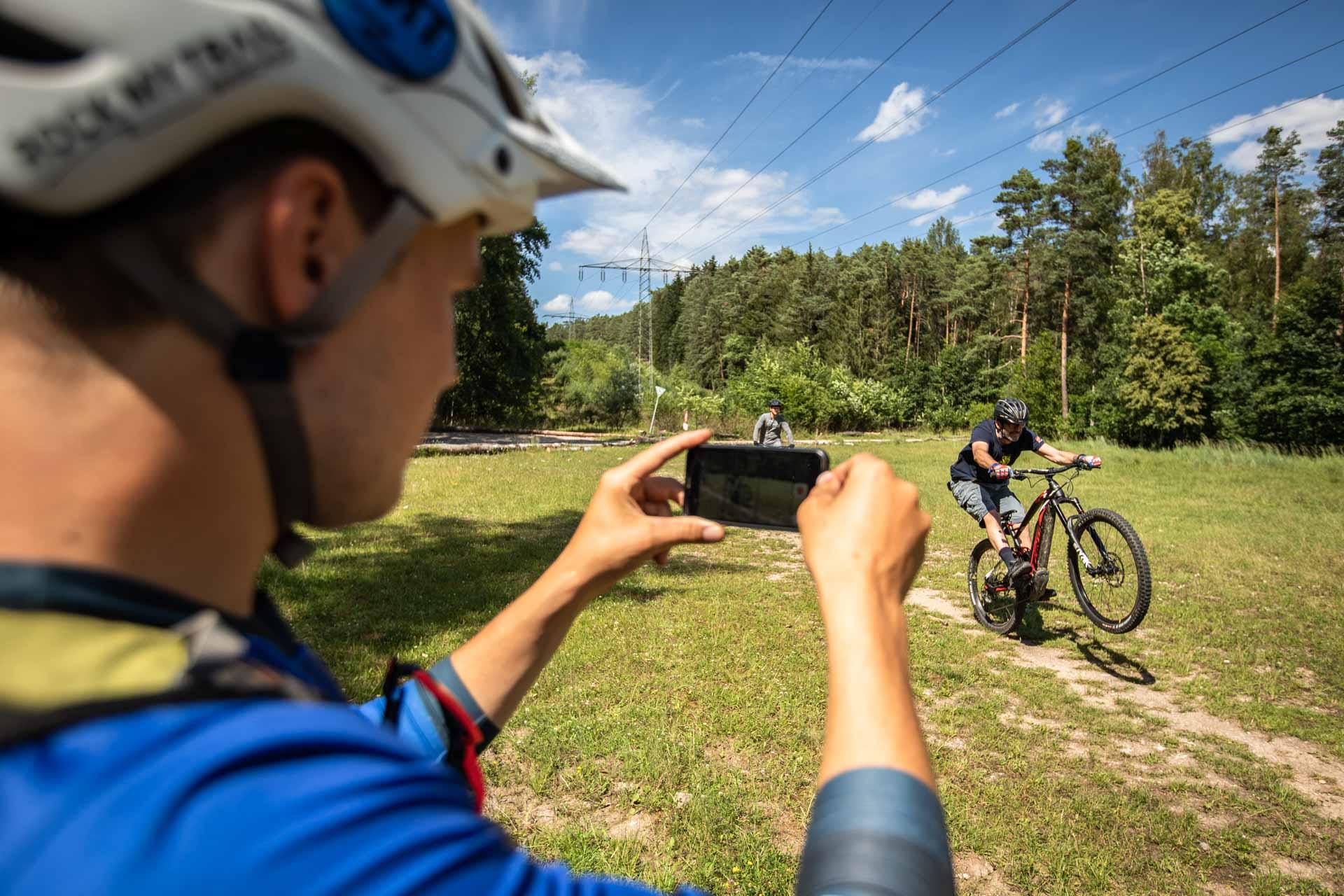 MTB Privat Kurs Fahrtechnik Training Rock my Trail