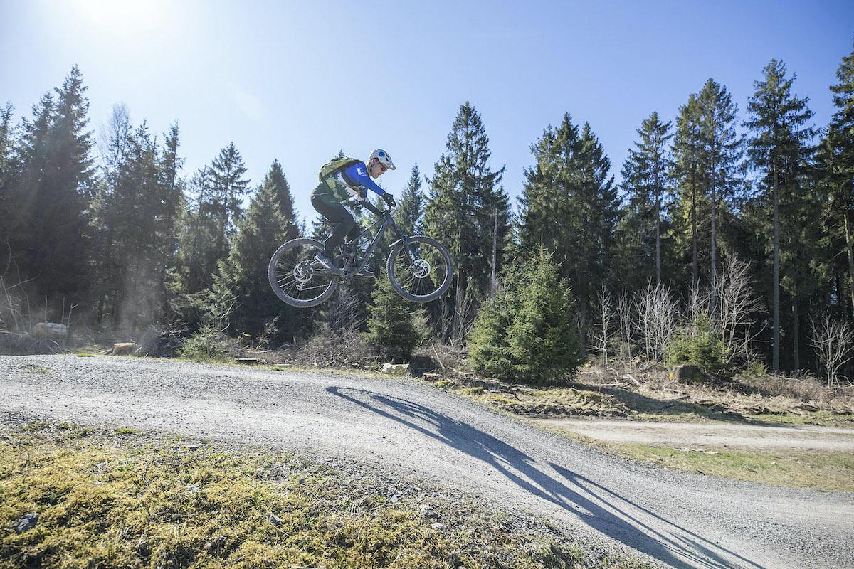 MTB Sprung & Drop Kurs im Bad Ems Bikepark - Fahrtechnik Training Rock my Trail Bikeschule