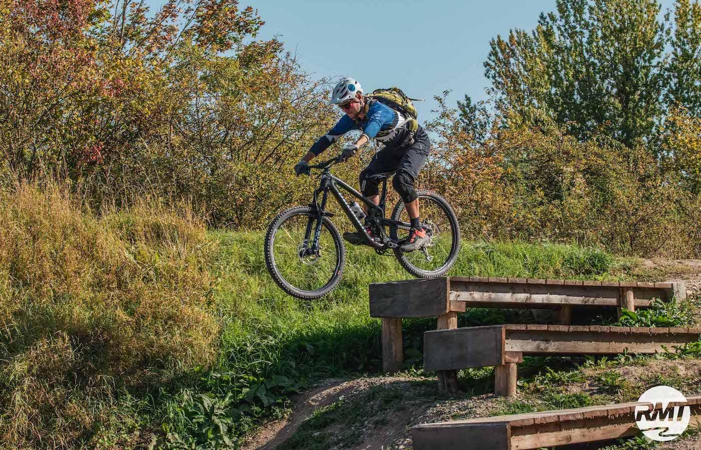 MTB Sprung & Drop Kurs im Trailpark Erbeskopf - Fahrtechnik Training Rock my Trail Bikeschule - 15