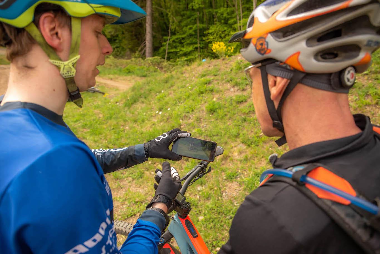 MTB Sprung & Drop Kurs im Trailpark Erbeskopf - Fahrtechnik Training Rock my Trail Bikeschule - 3