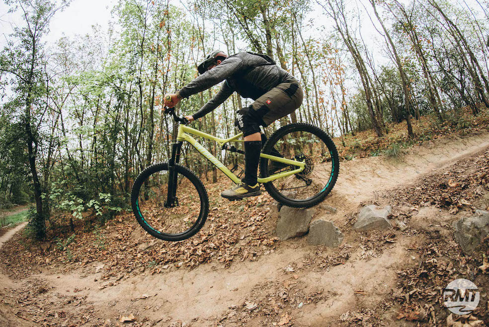 MTB Sprung & Drop Kurs im Trailpark Erbeskopf - Fahrtechnik Training Rock my Trail Bikeschule - 5
