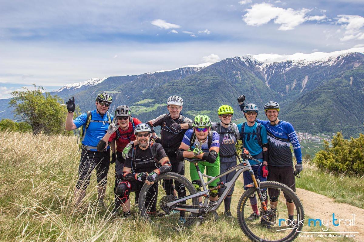 MTB Trailcamp Vinschgau Südtirol Rock my Trail Bikeschule