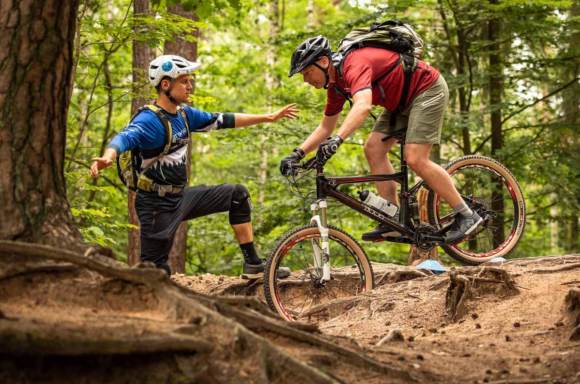 MTB eBike Fahrtechnik Wochenende Training Einsteiger Bikeschule Rock my Trail Kurs