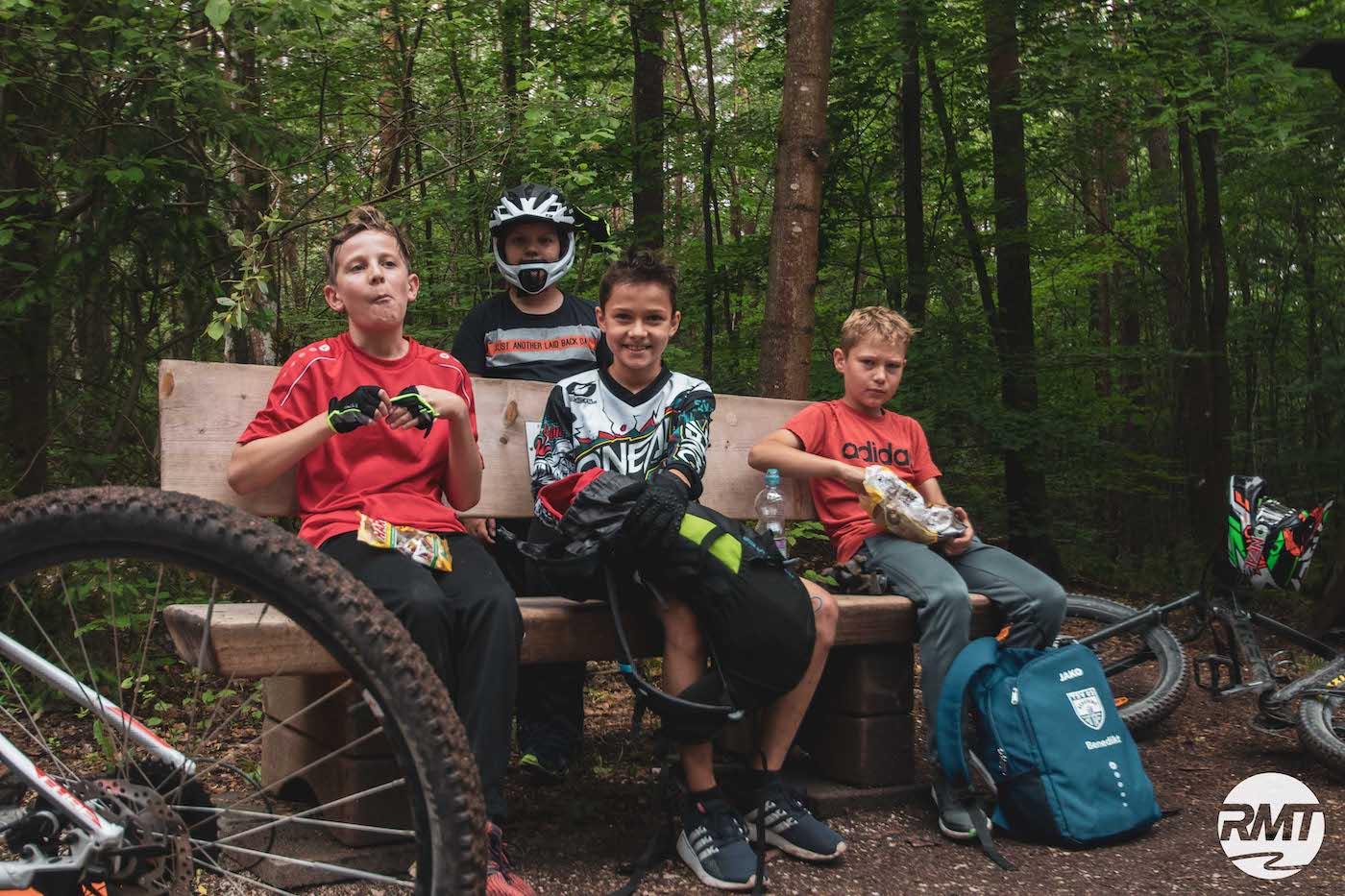 Mountainbike Kinder Kurs in Bad Orb |Spessart - 8-12 Jahre Kids - Rock my Trail Fahrtechnik Bikeschule - 15