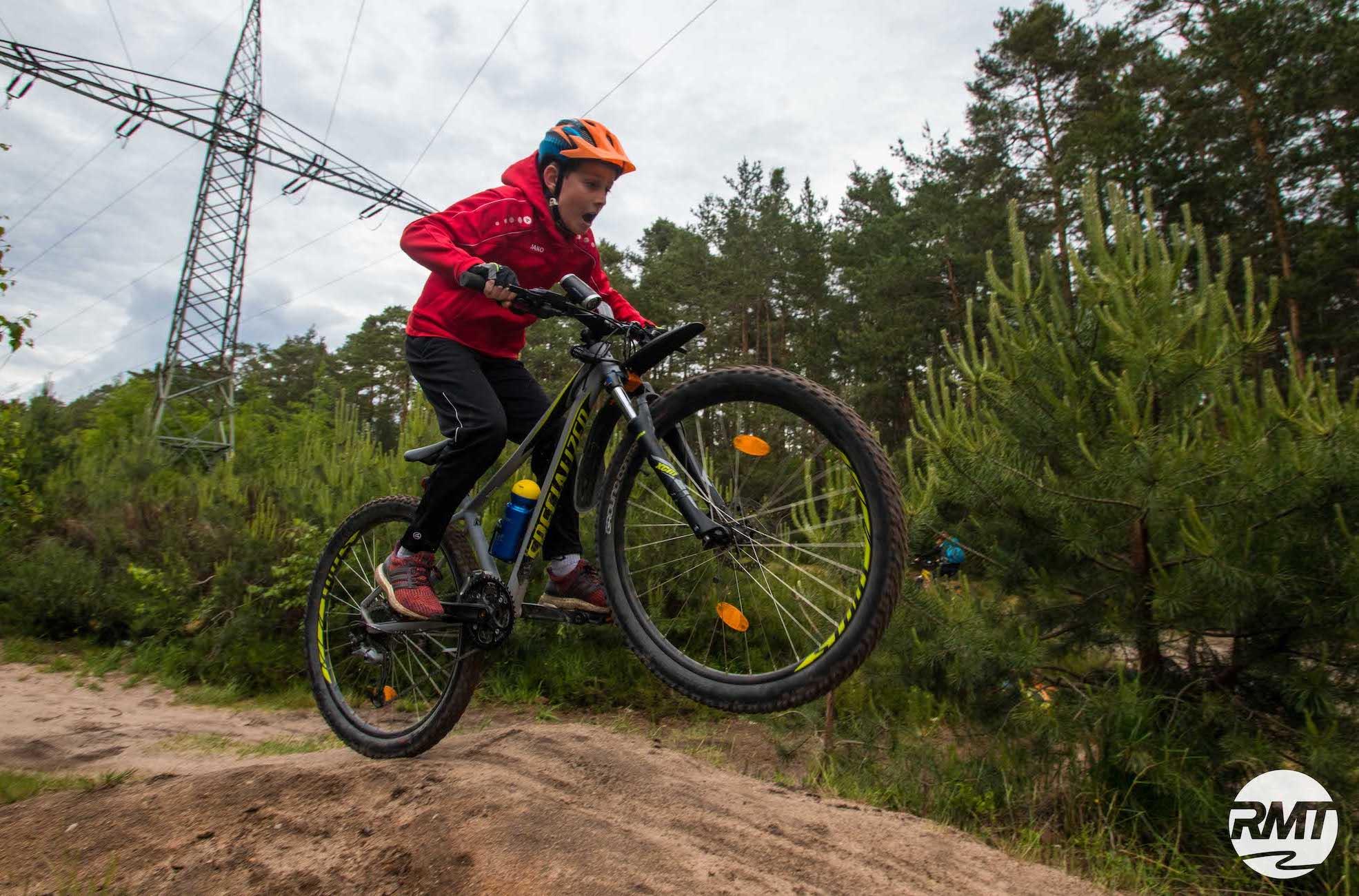 Mountainbike Kinder Kurs in Bad Orb |Spessart - 8-12 Jahre Kids - Rock my Trail Fahrtechnik Bikeschule - 5