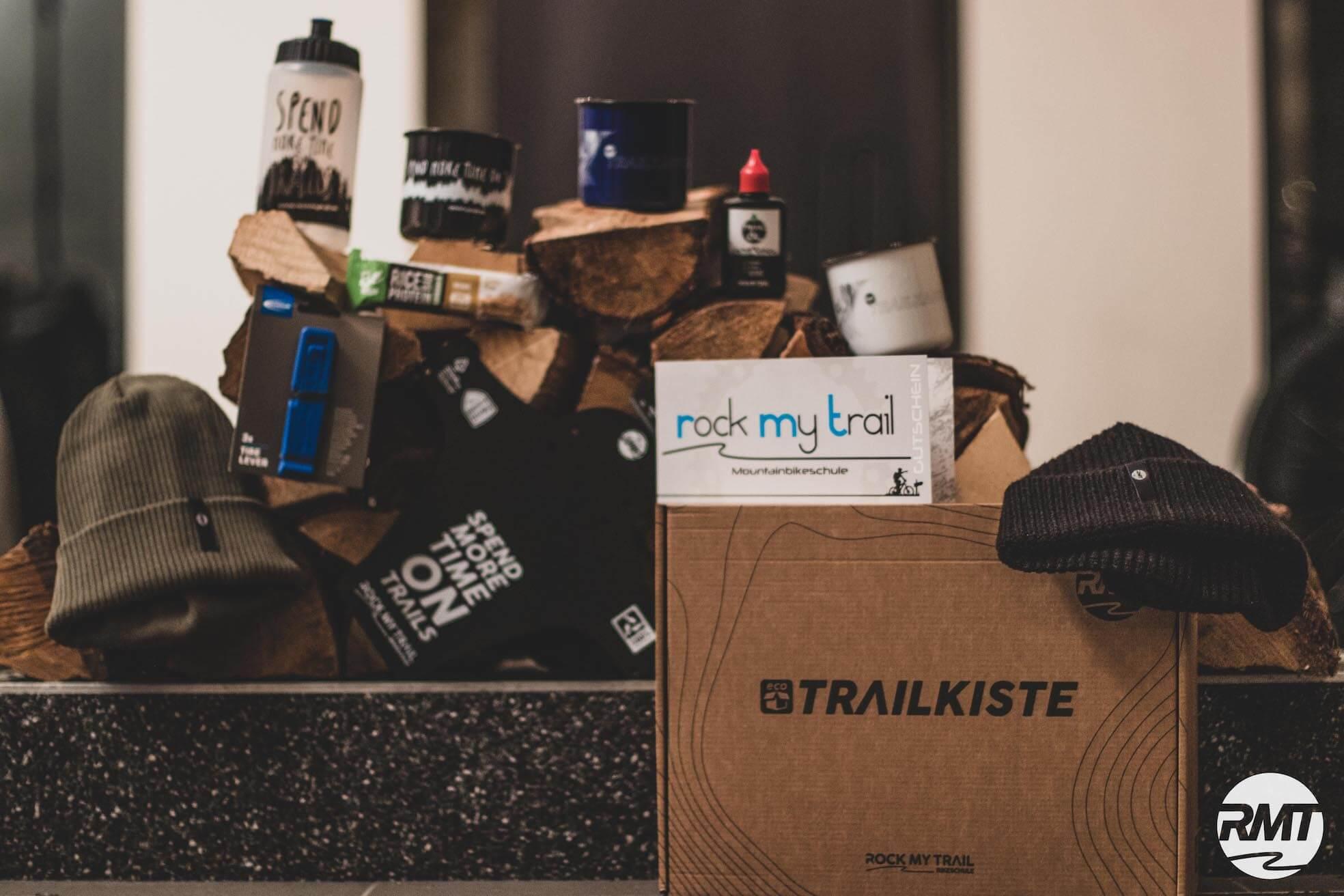 Trailkiste als Geschenk für Mountainbiker