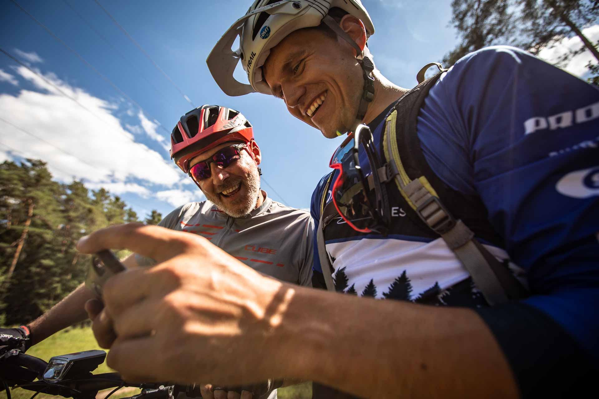 eBike MTB Privat Kurs Fahrtechnik Training Rock my Trail