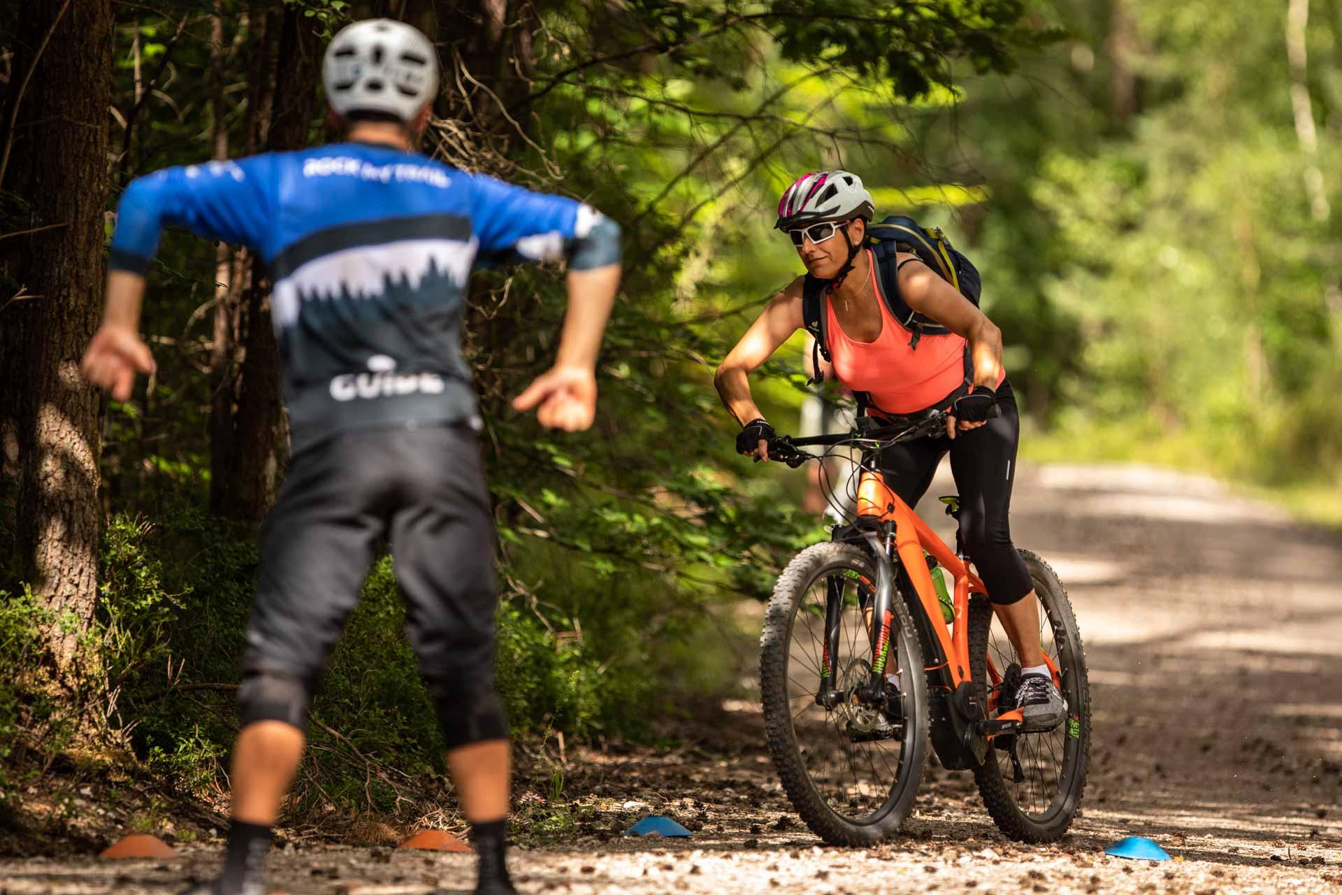 eMTB Basic Fahrtechnik Kurs Bad Orb Spessart Rock my Trail Bikeschule 7