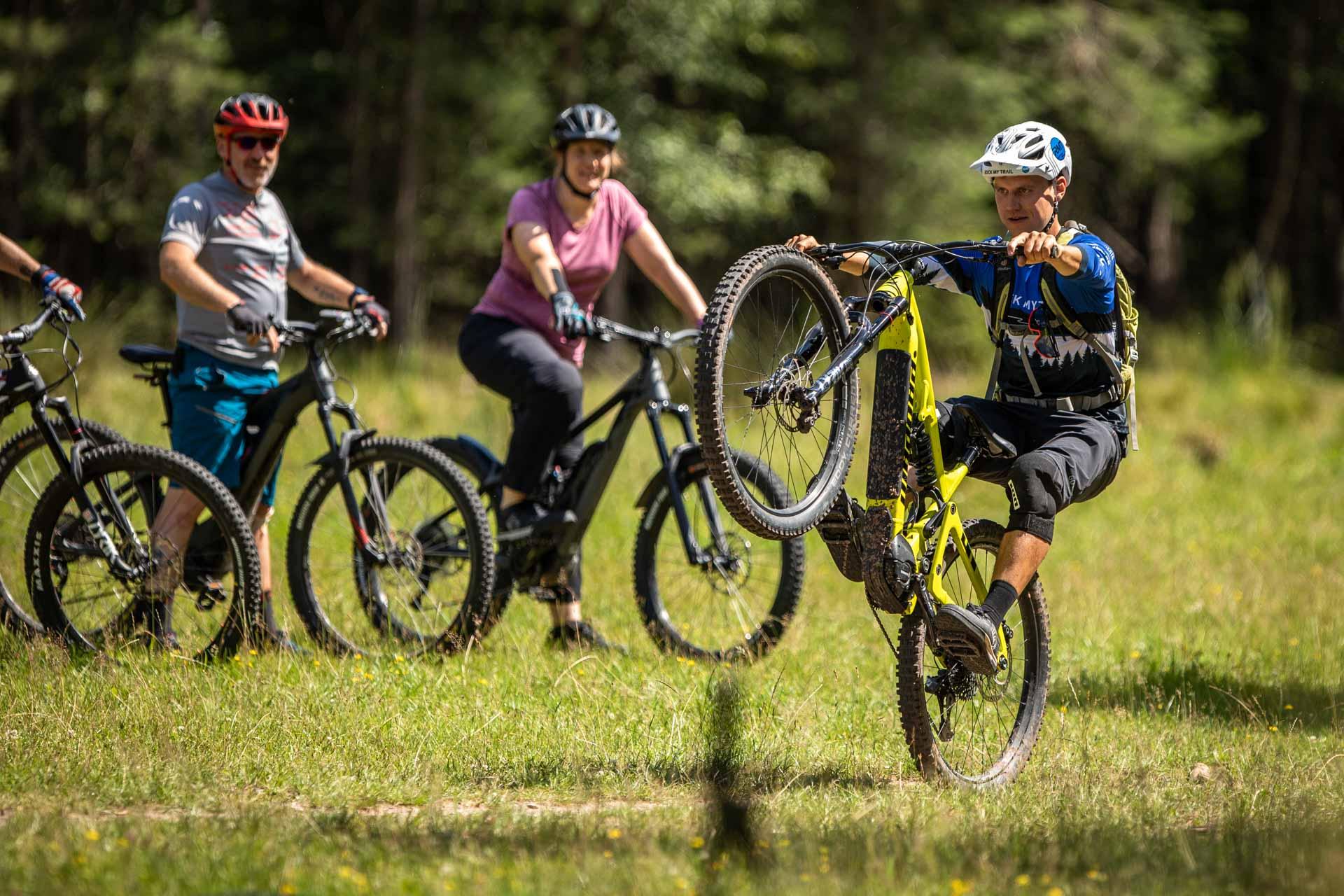 eMTB Fahrtechnik Kurs Fortgeschrittene in Bad Orb |Spessart - Mountainbike Fortgeschritten - Rock my Trail Bikeschule Bad Orb - 5