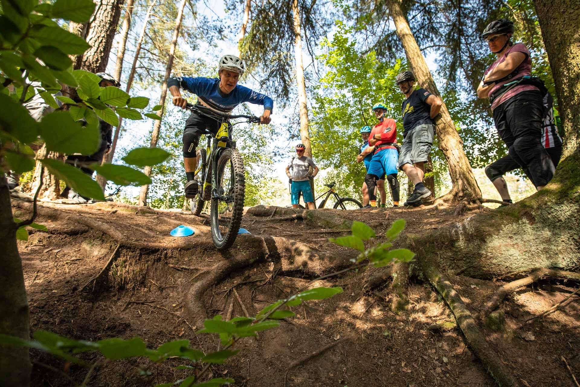 eMTB Fortgeschritten Fahrtechnik Kurs in Bad Orb Spessart - Rock my Trail Bikeschule - 4