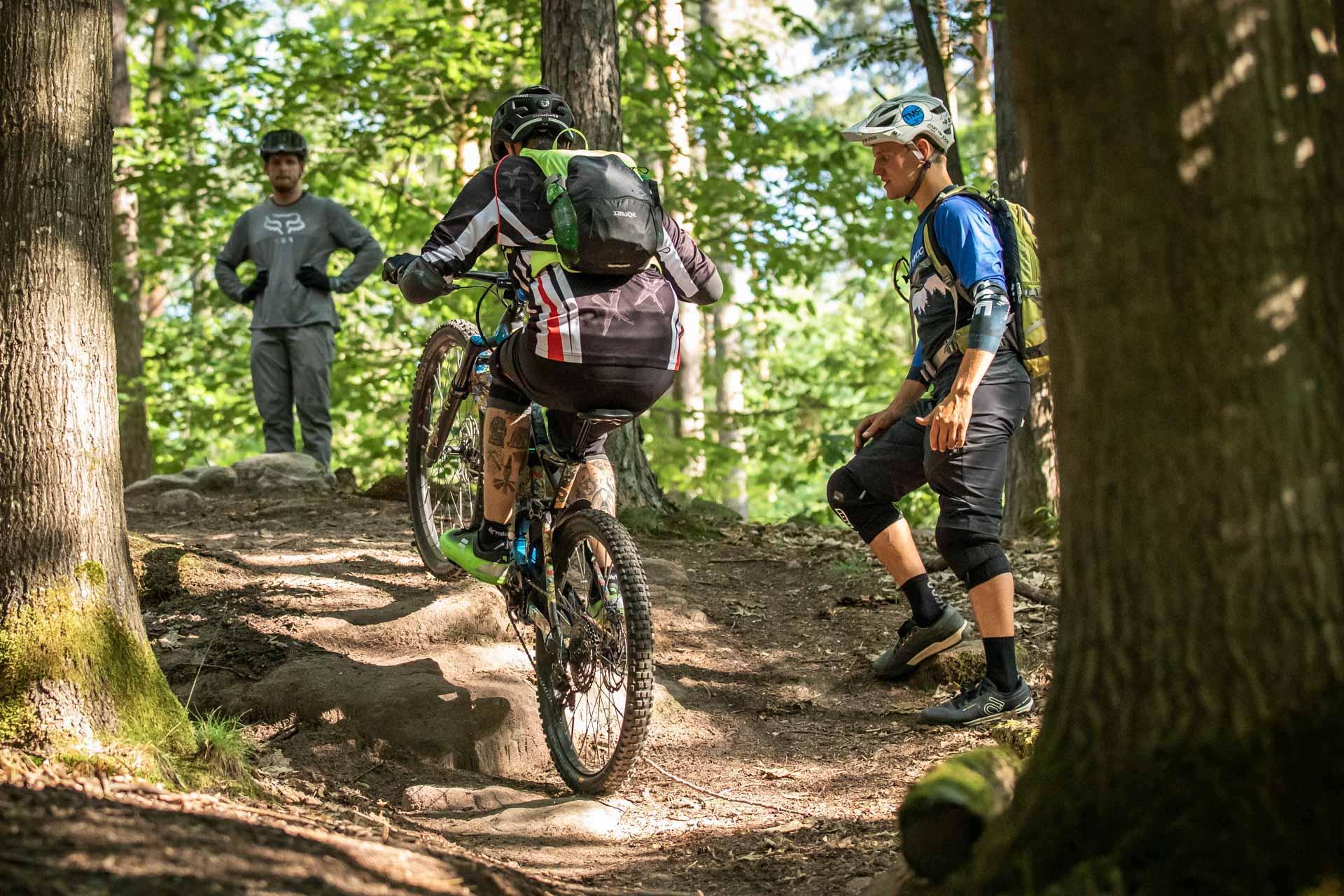 eMTB Fortgeschritten Fahrtechnik Kurs in Bad Orb Spessart - Rock my Trail Bikeschule - 7