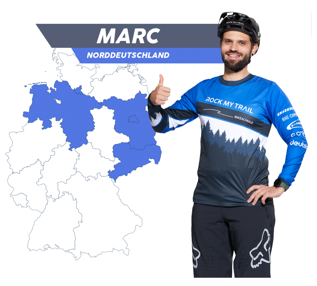 Rock my Trail Bikeschule Fahrtechnik Trainer_ Marc Schröder