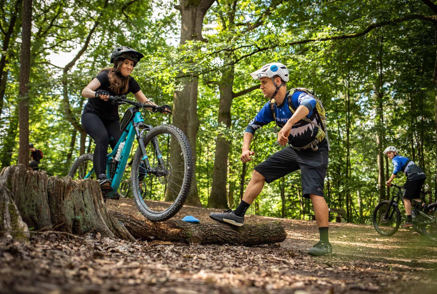 MTB Fahrtechnik Kurs für Einsteiger in Siegburg   Bonn - Mountainbike Basic - Rock my Trail Bikeschule - 1