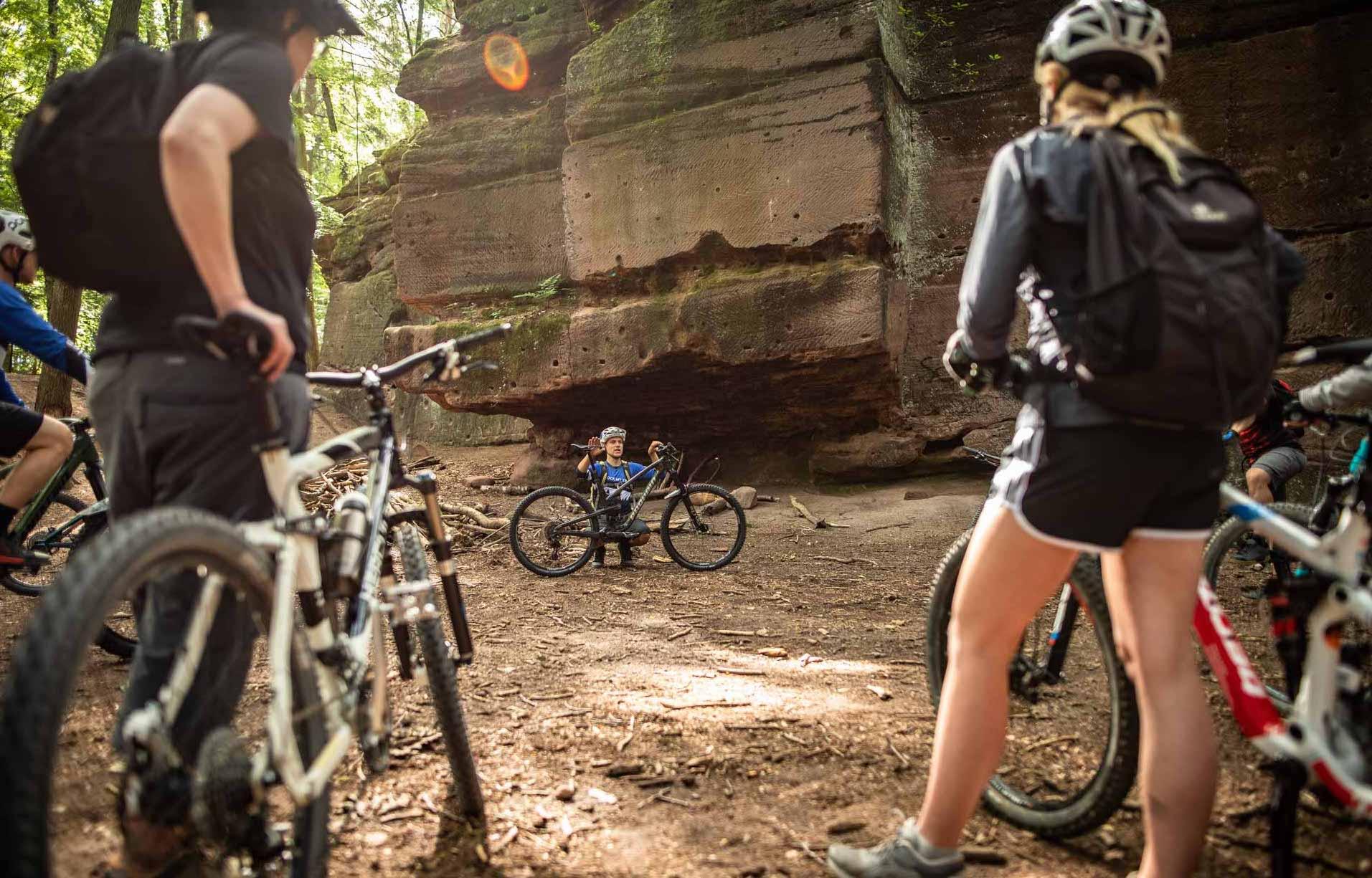 MTB Fahrtechnik Kurs für Einsteiger in Siegburg   Bonn - Mountainbike Basic - Rock my Trail Bikeschule - 11