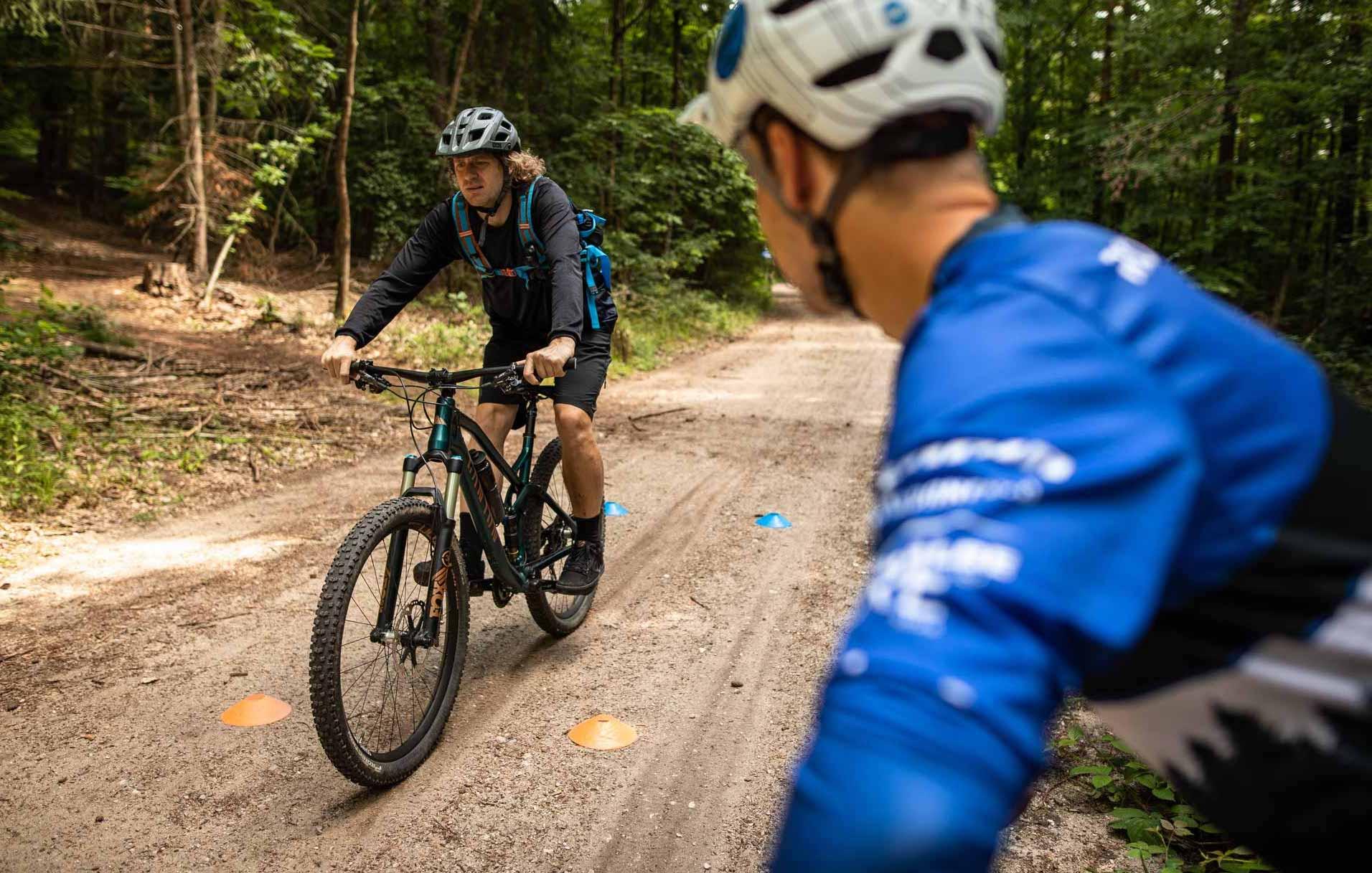 MTB Fahrtechnik Kurs für Einsteiger in Siegburg   Bonn - Mountainbike Basic - Rock my Trail Bikeschule - 12