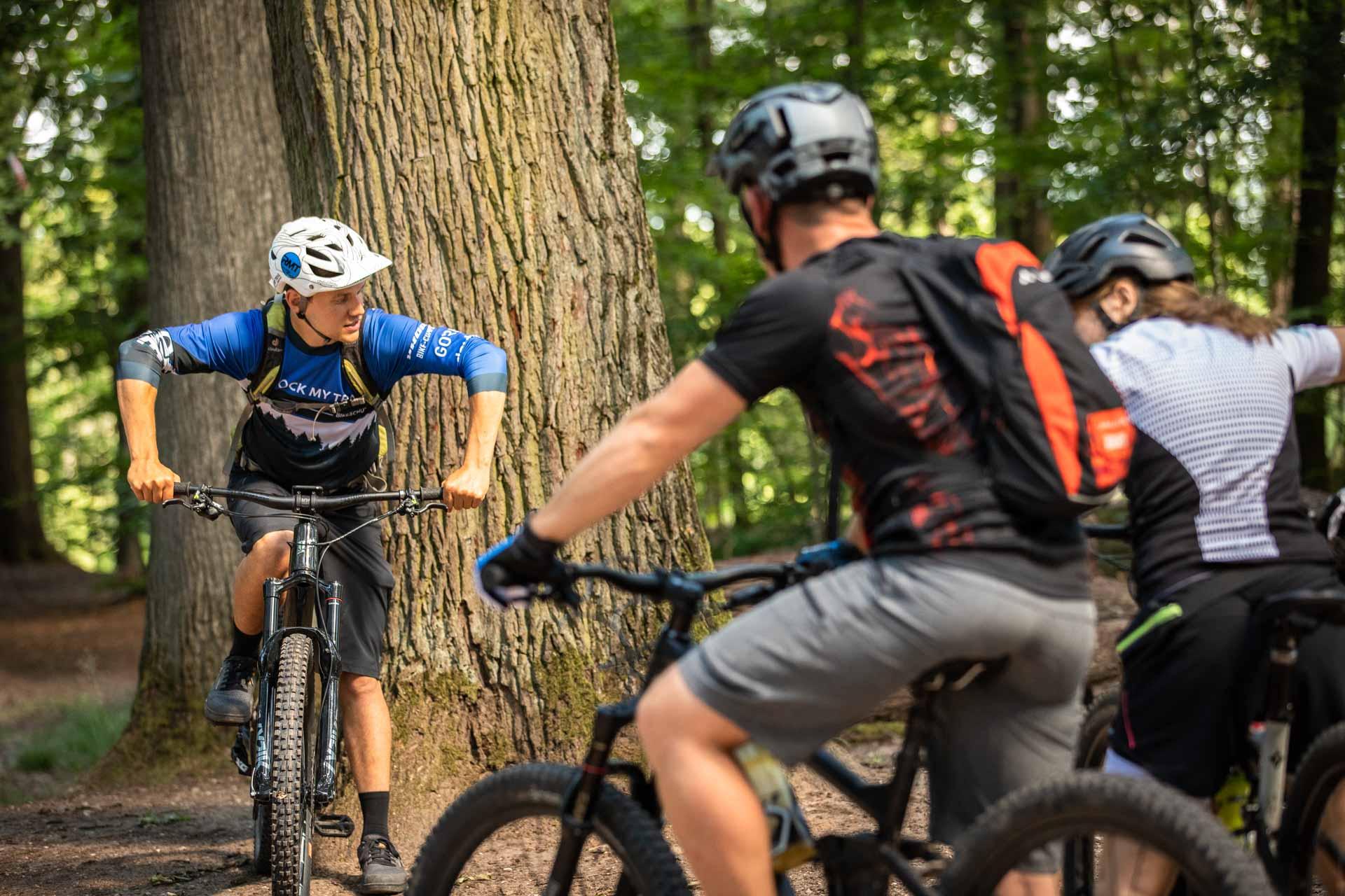 MTB Fahrtechnik Kurs für Einsteiger in Siegburg   Bonn - Mountainbike Basic - Rock my Trail Bikeschule - 13