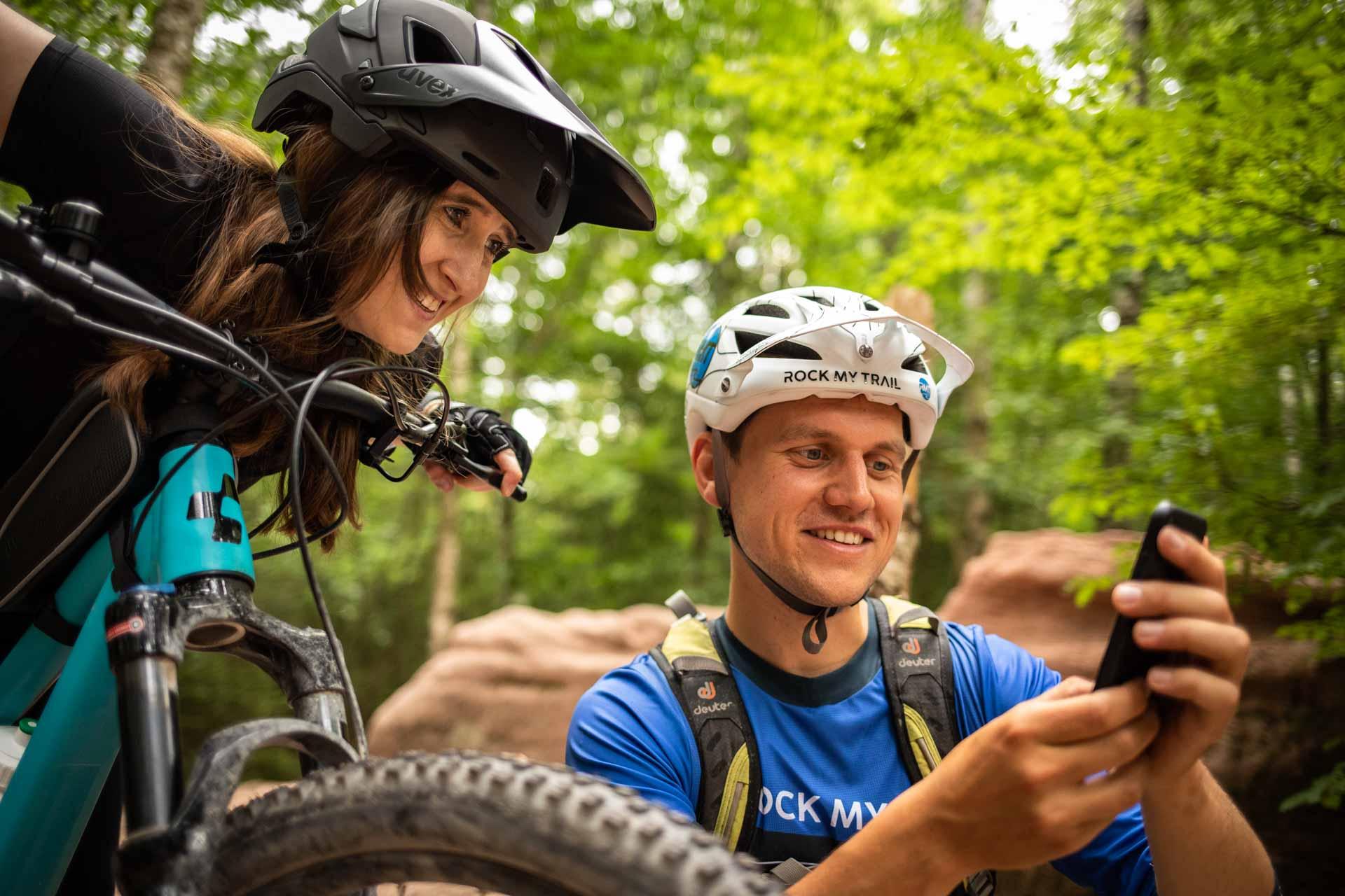 MTB Fahrtechnik Kurs für Einsteiger in Siegburg   Bonn - Mountainbike Basic - Rock my Trail Bikeschule - 18