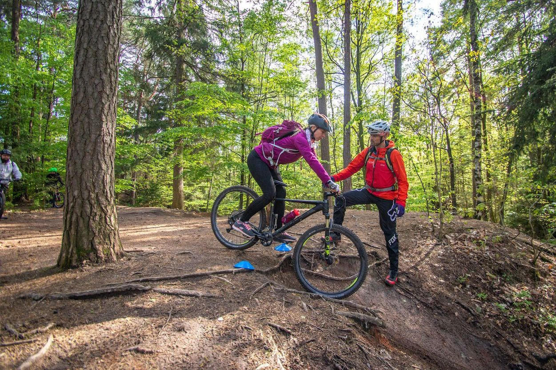 MTB Fahrtechnik Kurs für Einsteiger in Siegburg   Bonn - Mountainbike Basic - Rock my Trail Bikeschule - 2