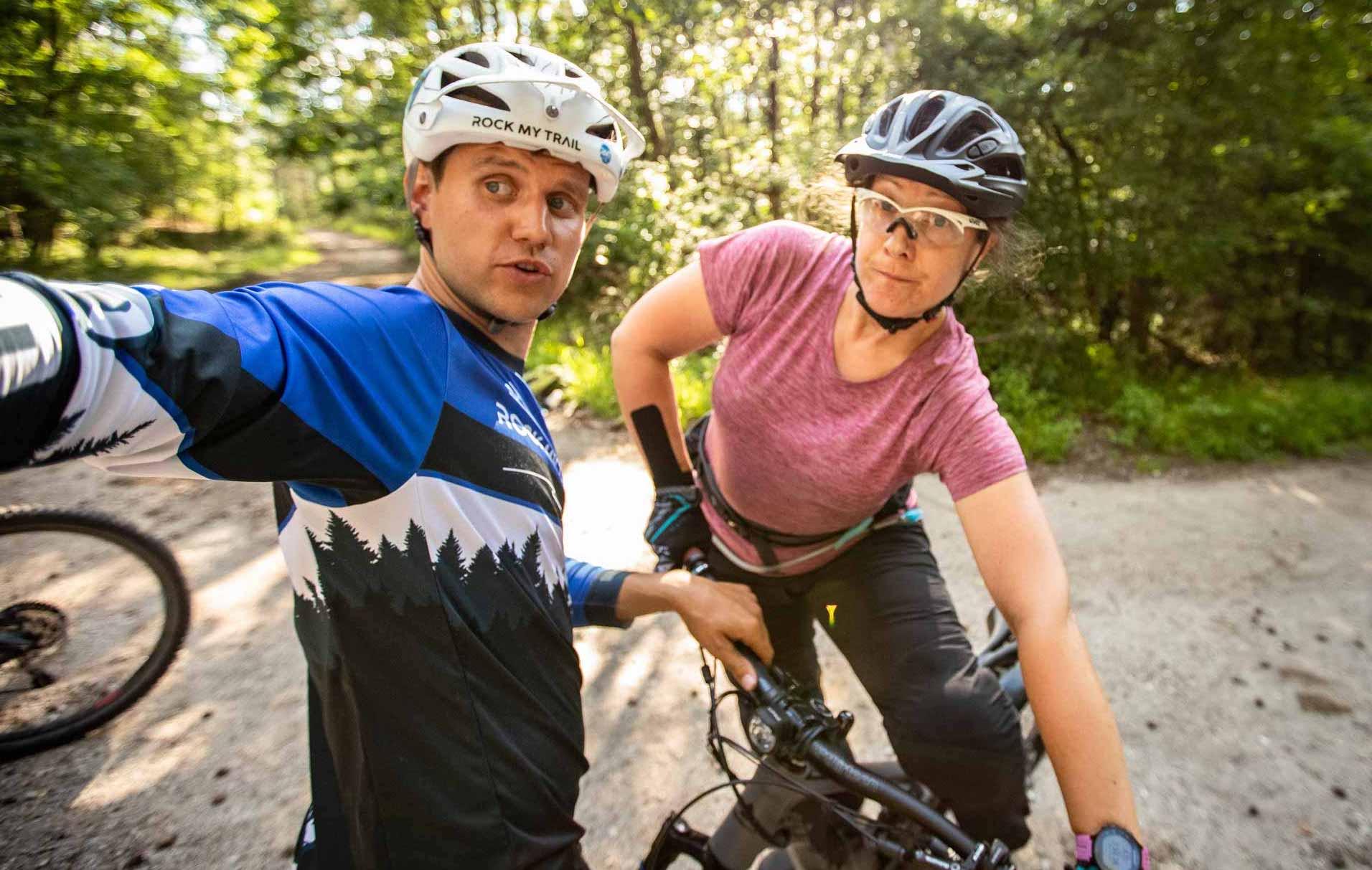 MTB Fahrtechnik Kurs für Einsteiger in Siegburg   Bonn - Mountainbike Basic - Rock my Trail Bikeschule - 24