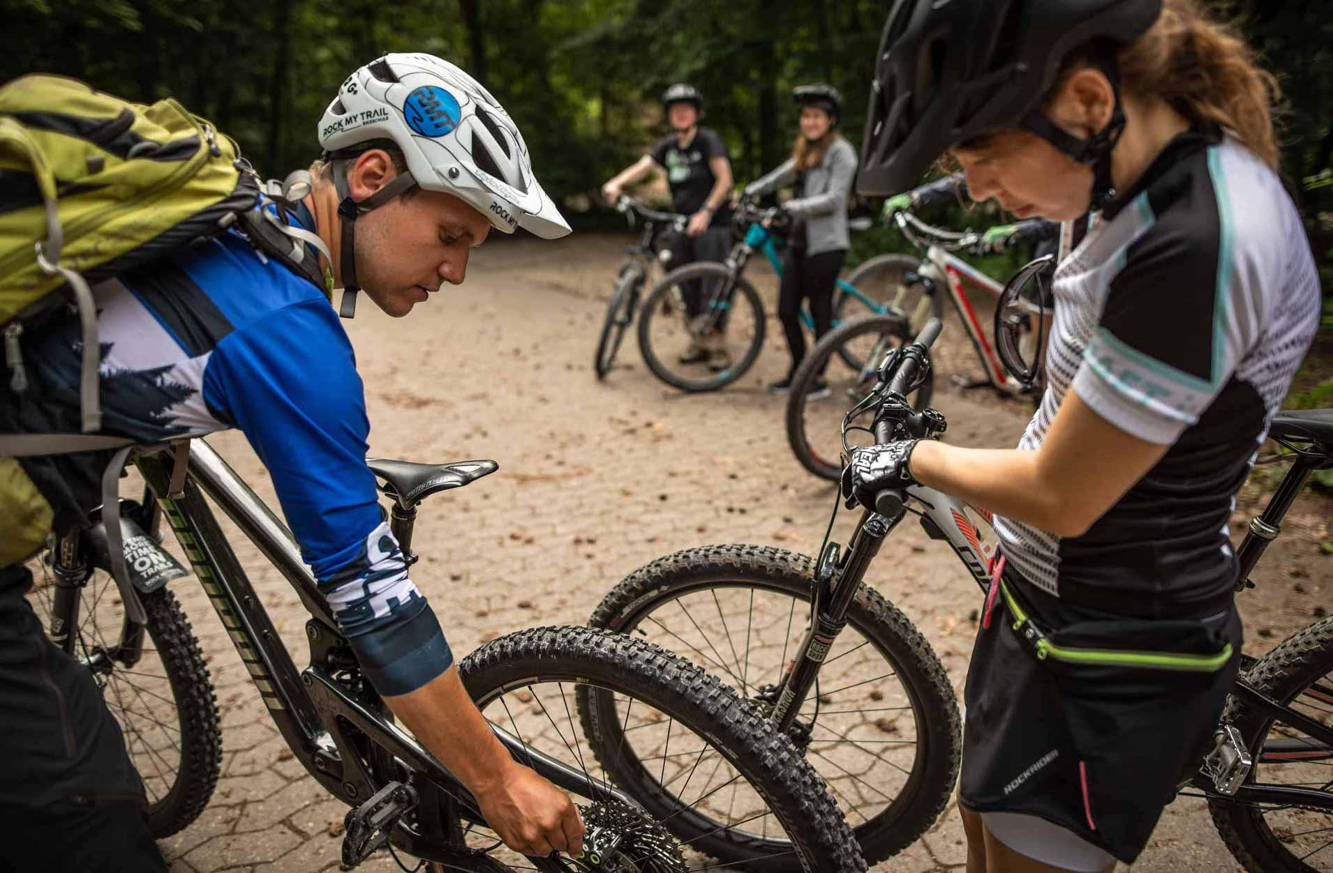 MTB Fahrtechnik Kurs für Einsteiger in Siegburg   Bonn - Mountainbike Basic - Rock my Trail Bikeschule - 25