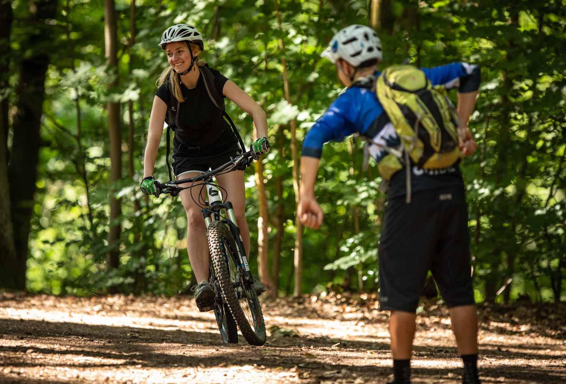 MTB Fahrtechnik Kurs für Einsteiger in Siegburg   Bonn - Mountainbike Basic - Rock my Trail Bikeschule - 26