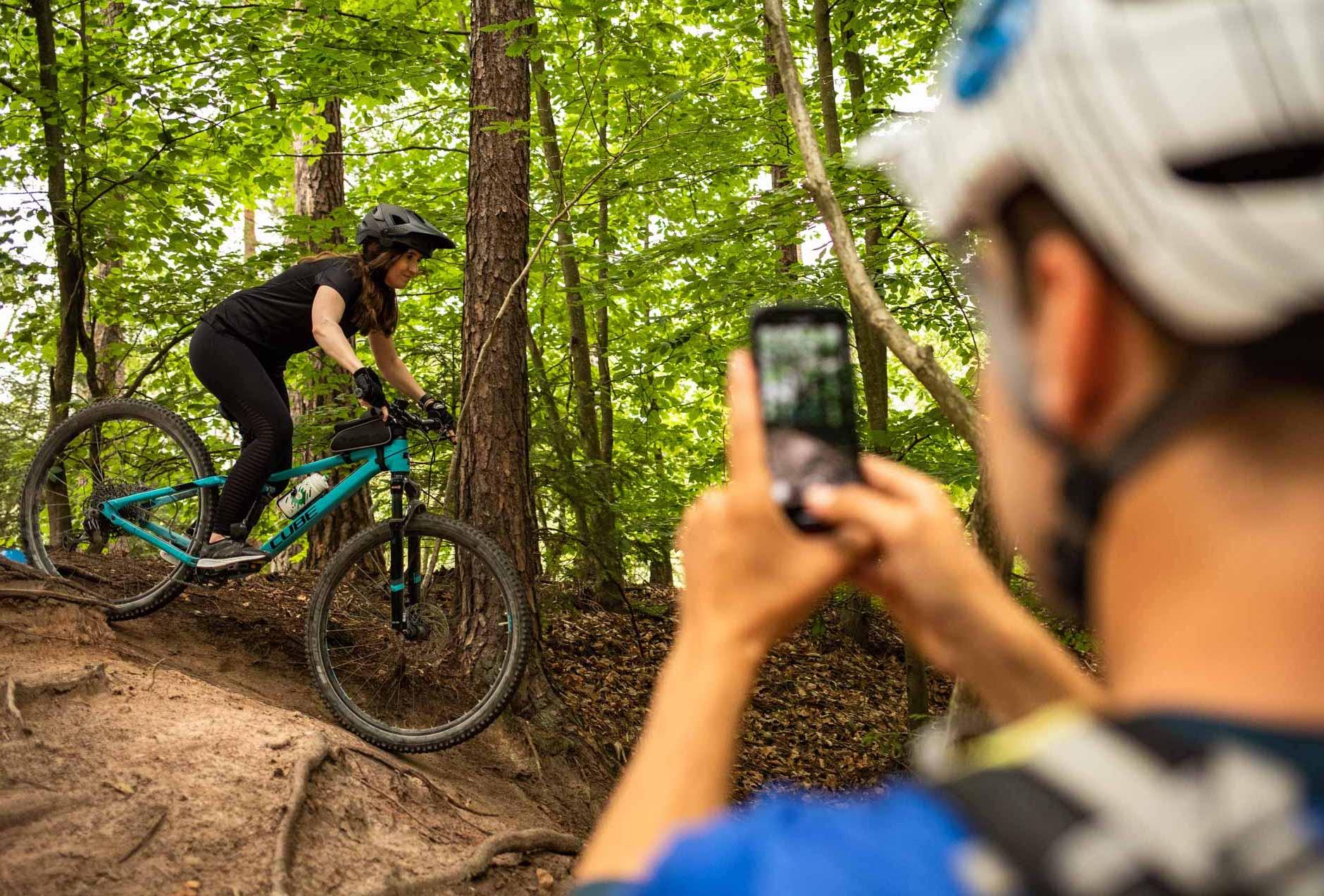 MTB Fahrtechnik Kurs für Einsteiger in Siegburg   Bonn - Mountainbike Basic - Rock my Trail Bikeschule - 30