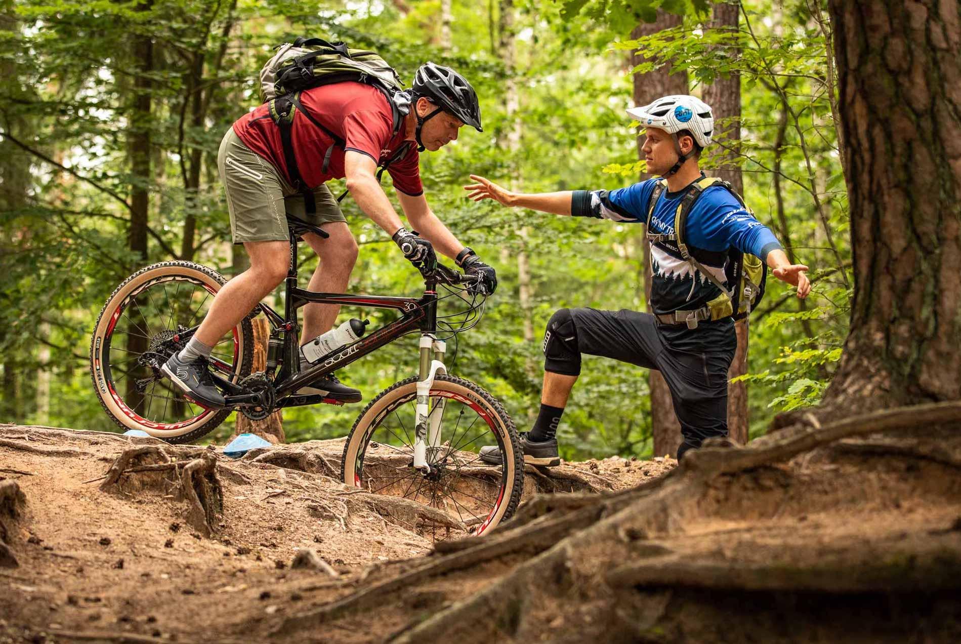 MTB Fahrtechnik Kurs für Einsteiger in Siegburg | Bonn - Mountainbike Basic - Rock my Trail Bikeschule - 32