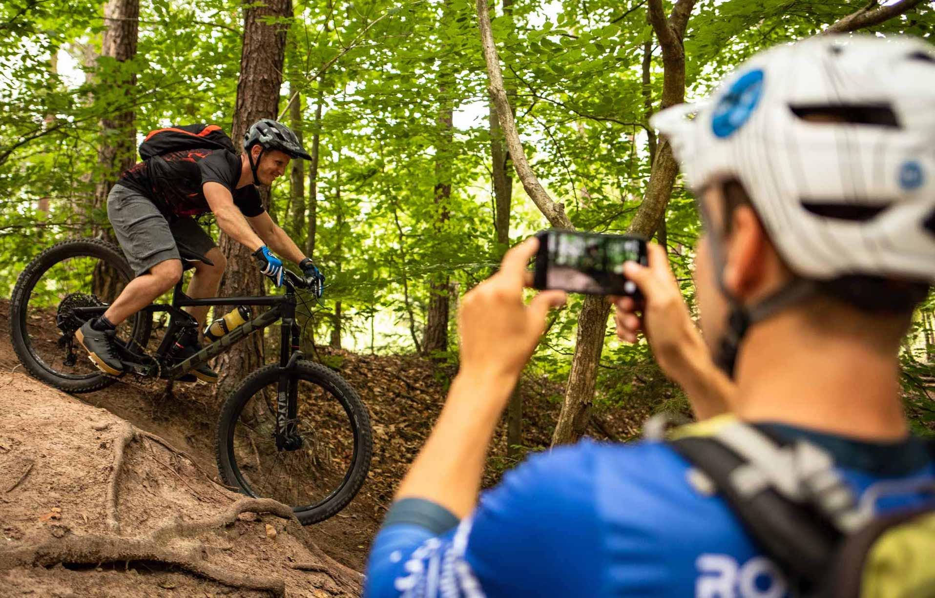 MTB Fahrtechnik Kurs für Einsteiger in Siegburg   Bonn - Mountainbike Basic - Rock my Trail Bikeschule - 8
