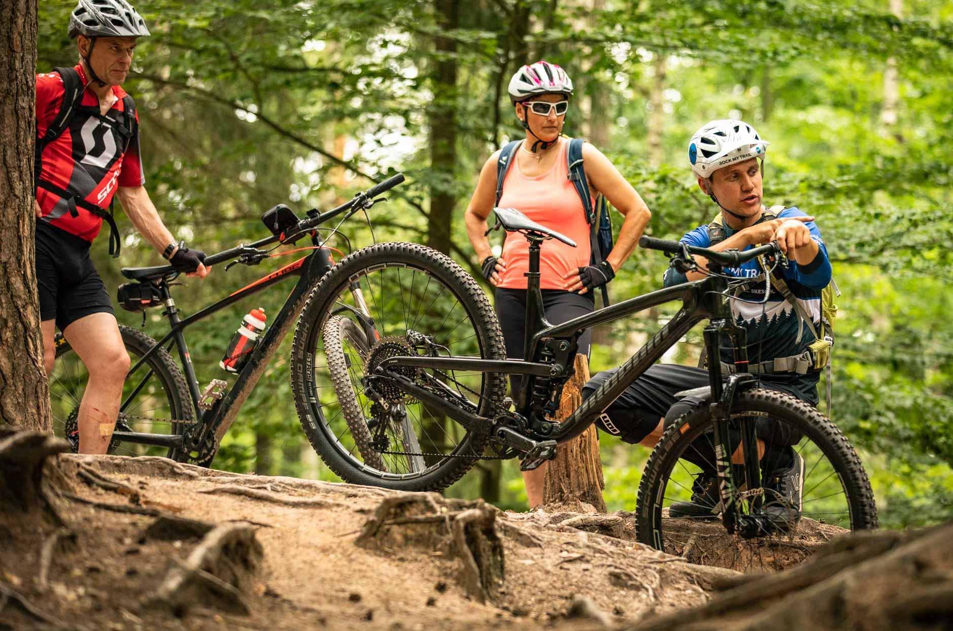 MTB Fahrtechnik Kurs für Einsteiger in Siegburg   Bonn - Mountainbike Basic - Rock my Trail Bikeschule - 9