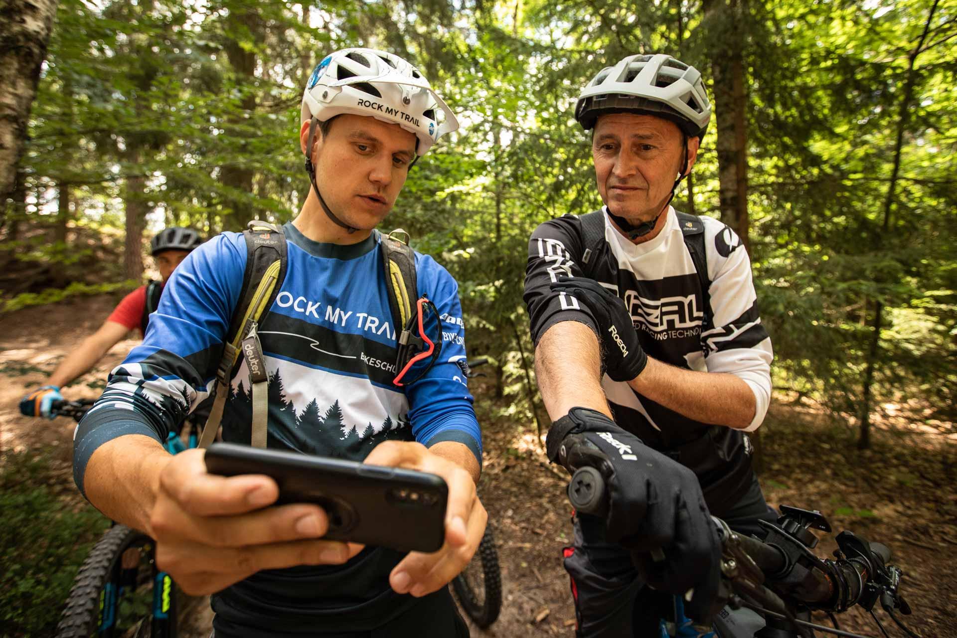 MTB Corona Privat Kurs Fahrtechnik Training Rock my Trail