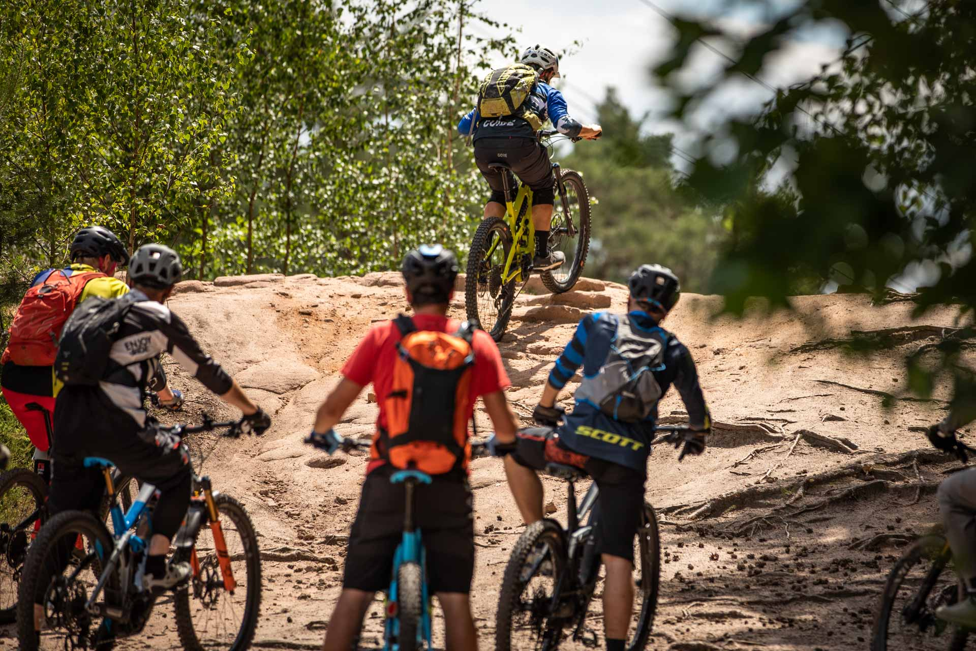eMTB Fahrtechnik Einsteiger Siegburg Bonn eBike Kurs für eBike Einsteiger_Rock my Trail Bikeschule - 313