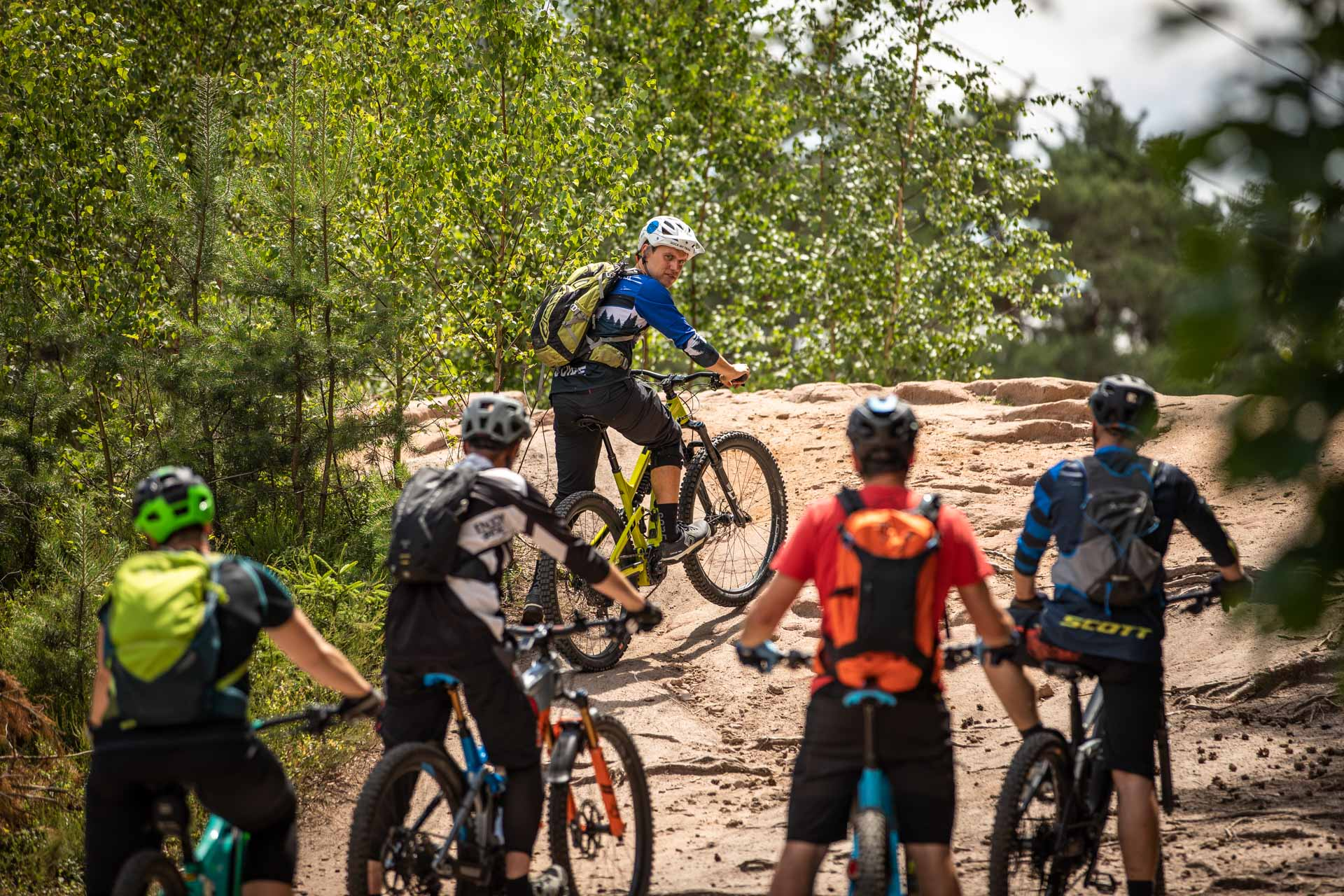 eMTB Fahrtechnik Einsteiger Siegburg Bonn eBike Kurs für eBike Einsteiger_Rock my Trail Bikeschule - 38