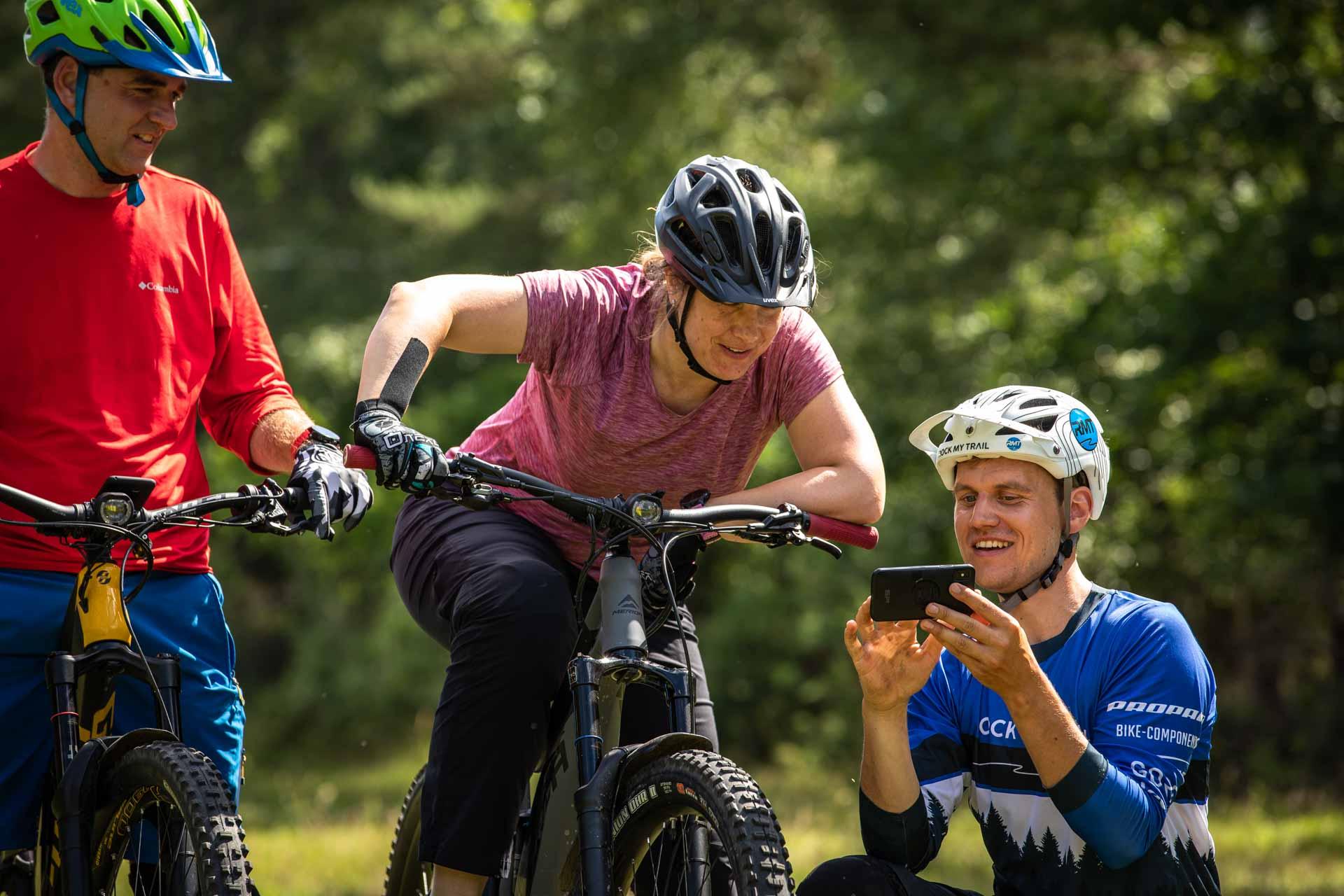 eMTB eBike Fortgeschritten Fahrtechnik Kurs in Siegen - Rock my Trail Bikeschule321