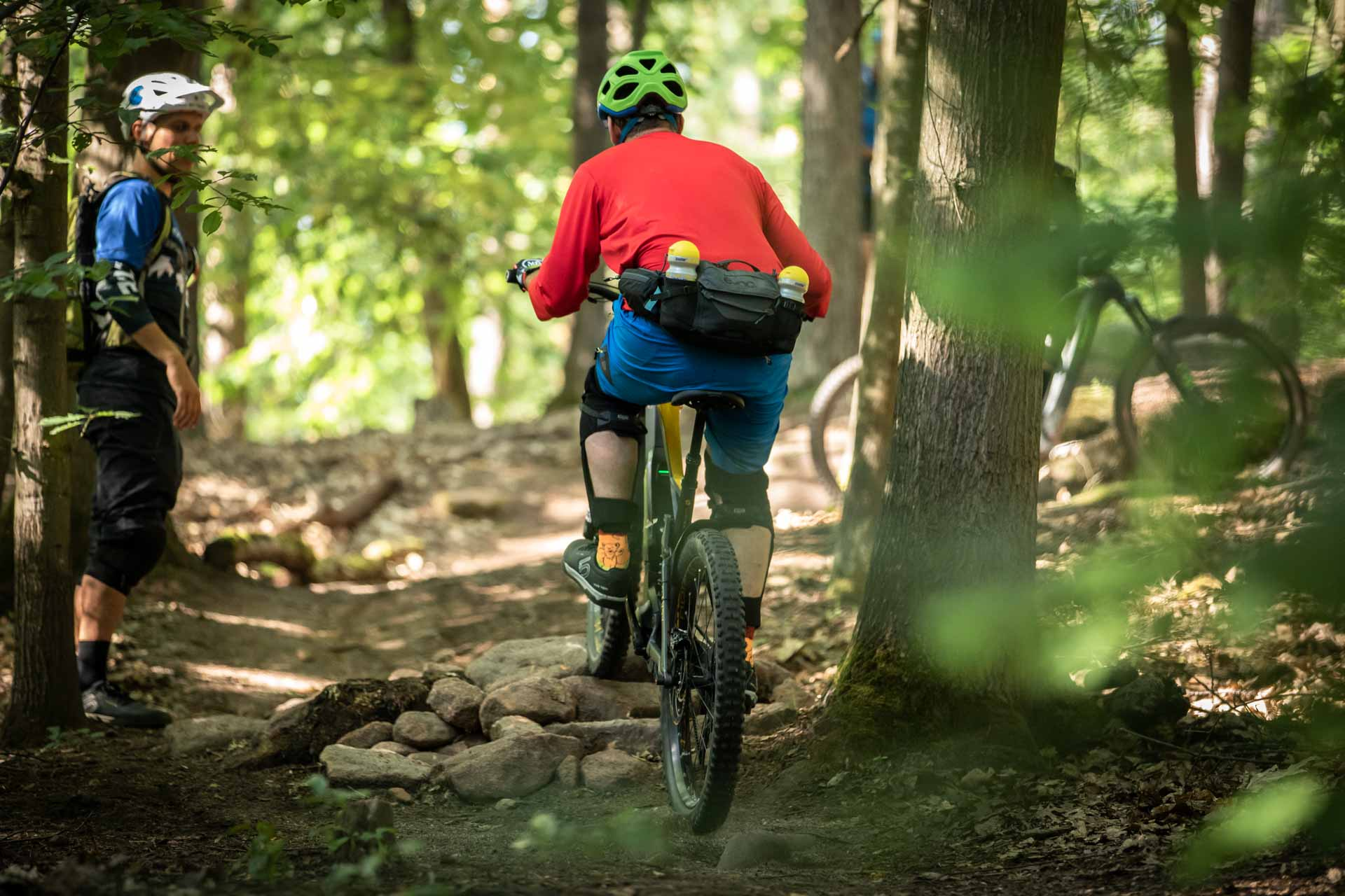 eMTB eBike Fortgeschritten Fahrtechnik Kurs in Siegen - Rock my Trail Bikeschule324