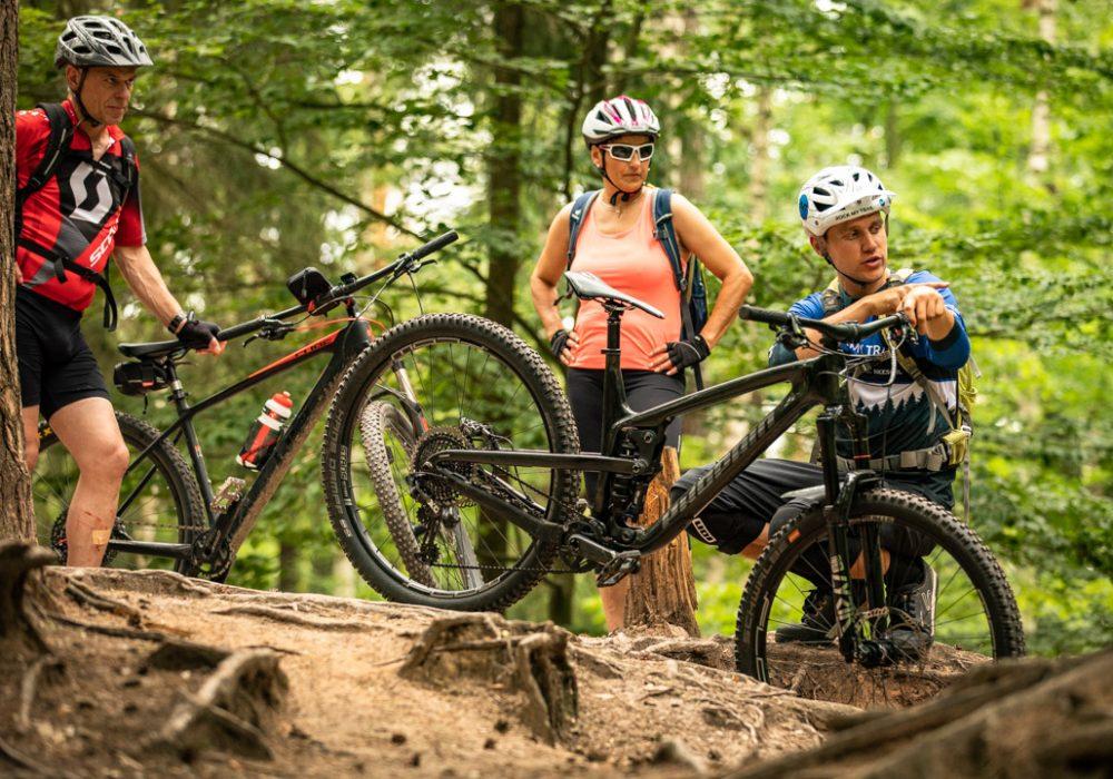 Fahrtechnik Wochenende Basic+ Winterberg Sauerland Intensiv Training - Rock my Trail - Bikeschule - Titelbild