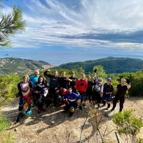 Finale Ligure Enduro Trail Reise