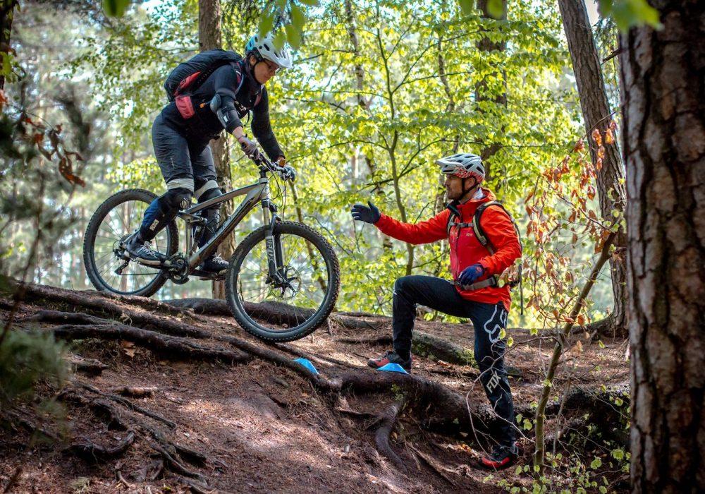 MTB Fahrtechnik Kurs Fortgeschrittene in Frankfurt |Taunus - Mountainbike Fortgeschritten - Rock my Trail Bikeschule