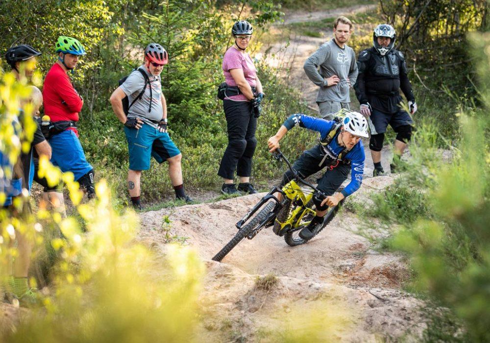 MTB Fahrtechnik Kurs Fortgeschrittene in Ravensburg - Mountainbike Fortgeschritten - Rock my Trail Bikeschule