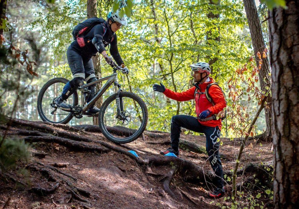 MTB Fahrtechnik Kurs Fortgeschrittene in Witten | Ruhrgebiet - Mountainbike Fortgeschritten - Rock my Trail Bikeschule GmbH - 4