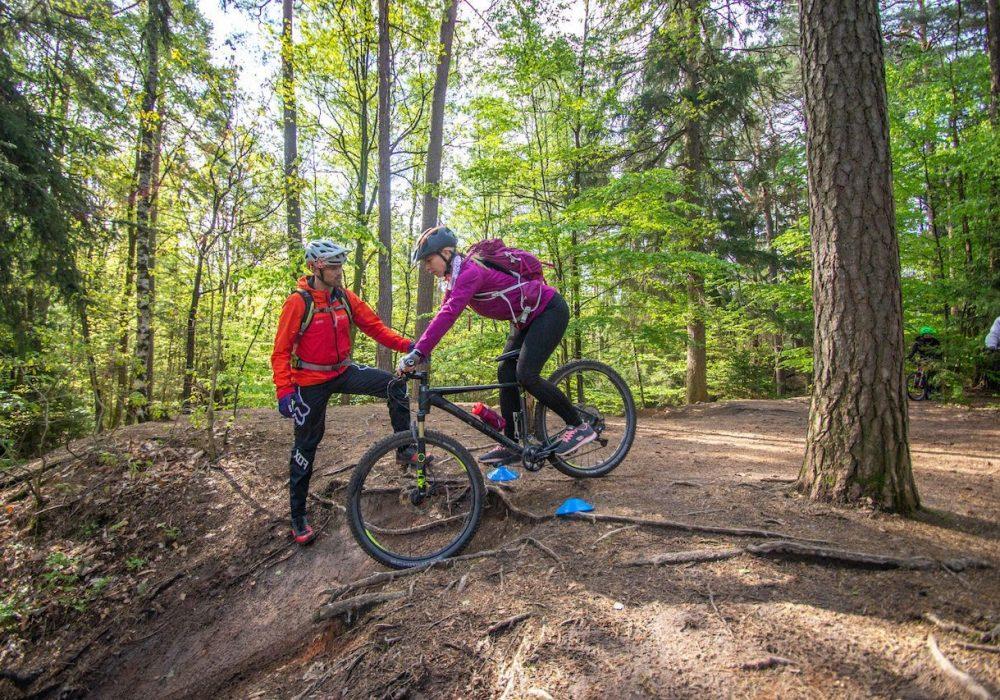 MTB Fahrtechnik Kurs für Einsteiger in Bad Orb | Spessart - Mountainbike Basic - Rock my Trail Bikeschule - 2