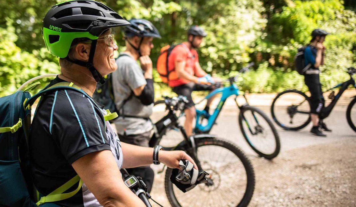 MTB Fahrtechnik Kurs für Einsteiger in Heidelberg - Rock my Trail - Mountainbike Kurs