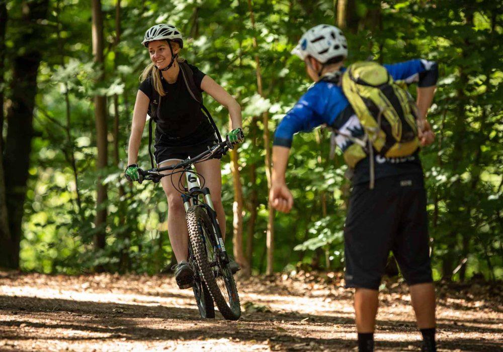 MTB Fahrtechnik Kurs für Einsteiger in Moers - Mountainbike Basic - Rock my Trail Bikeschule - 26